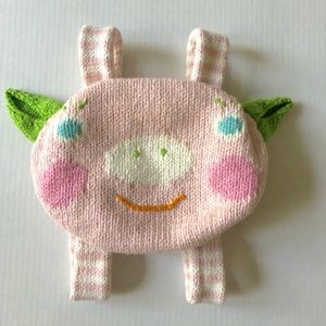 Blabla Piggy Knitted Backpack